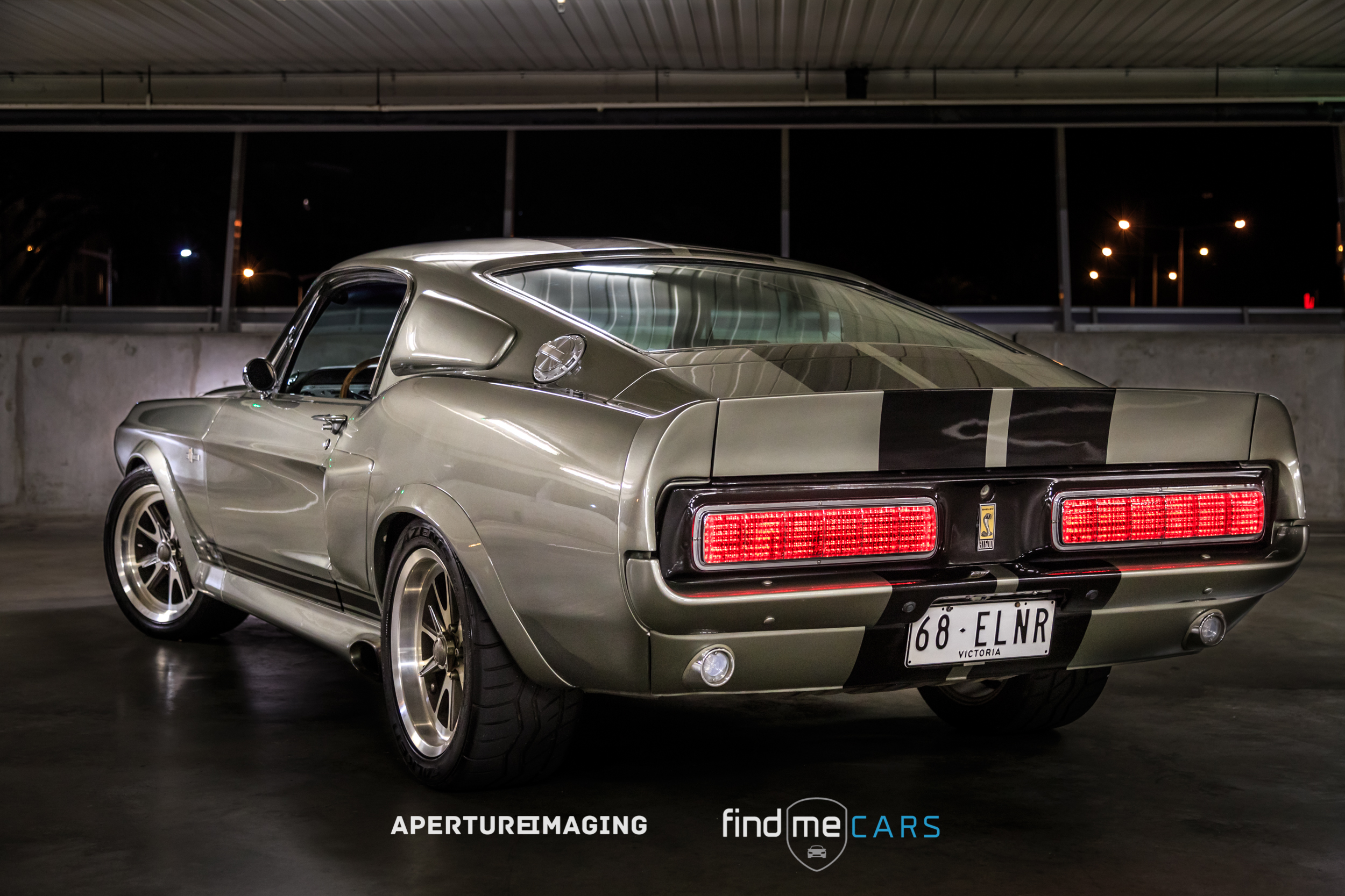 1968 Ford Mustang Fastback Movie Correct Eleanor