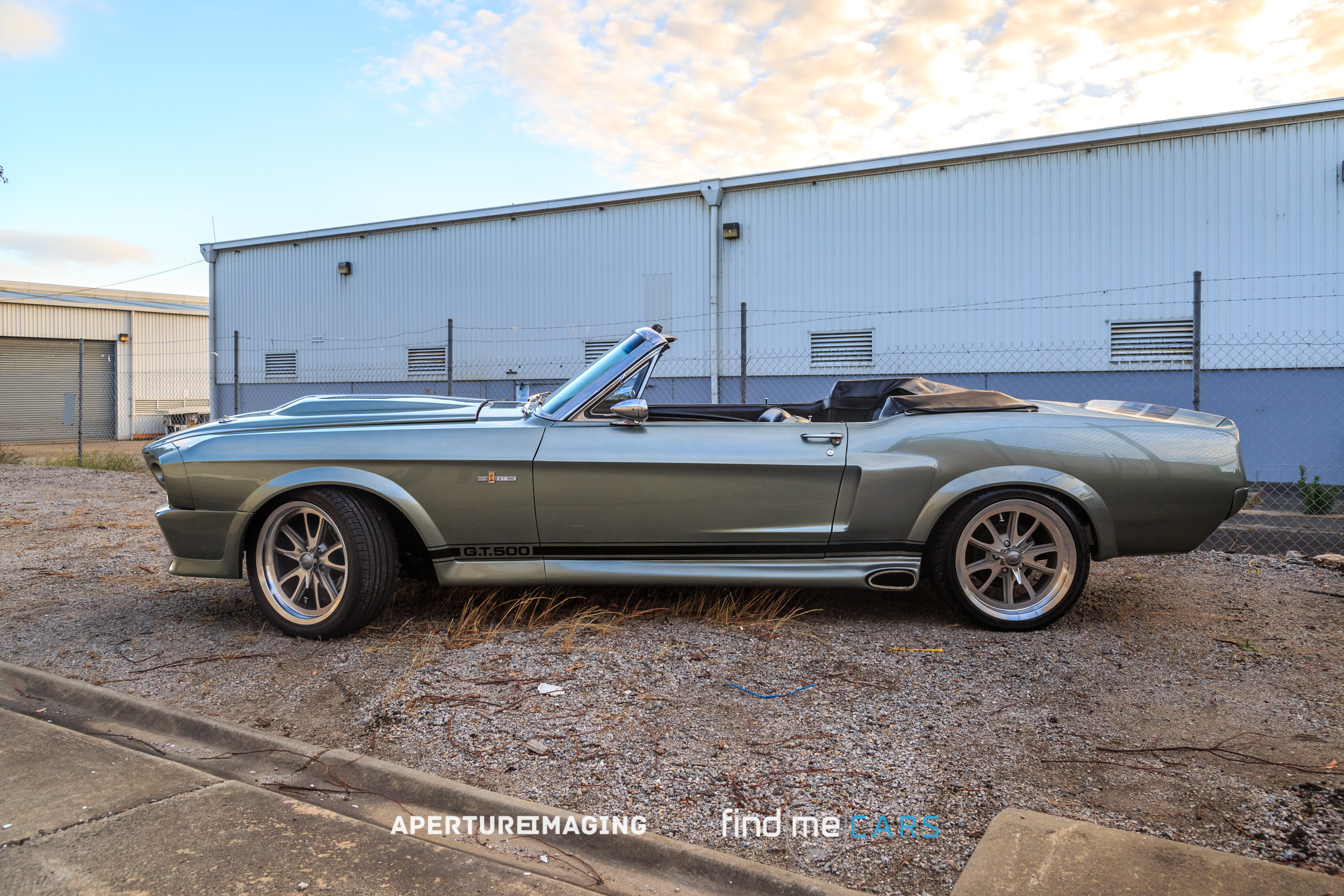 1968 ford mustang convertible eleanor